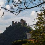 Burg Schönburg in Oberwesel am Rhein