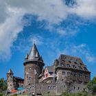 Burg Stahleck oberhalb von Bacharach am Rhein - Oberes Mittelrheintal