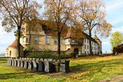 Burg Stettenfels im Herbst