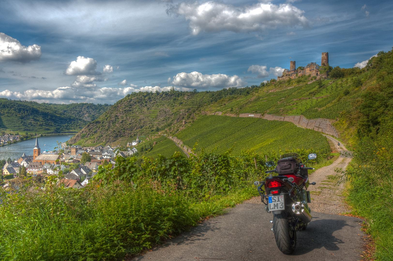 Burg Thurandt bei Alken an der Mosel