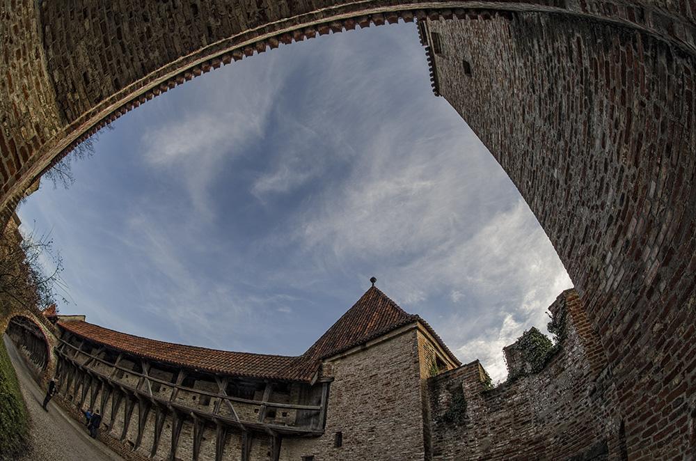 Burg Trausnitz - im Wehrgang