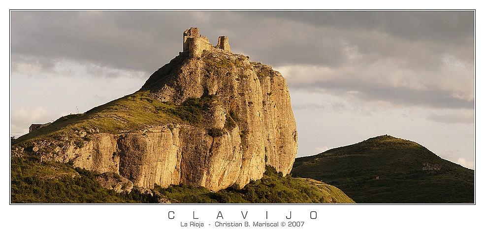 Burg von Clavijo (La Rioja, Spanien)