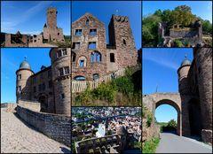 Burg Wertheim Collage