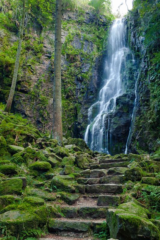 Burgbachwasserfall (Bad-Rippoldsau/Schapbach)