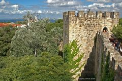 Burgbefestigung Castelo de Sao Jorge