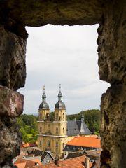 Burgblick zur Basilika