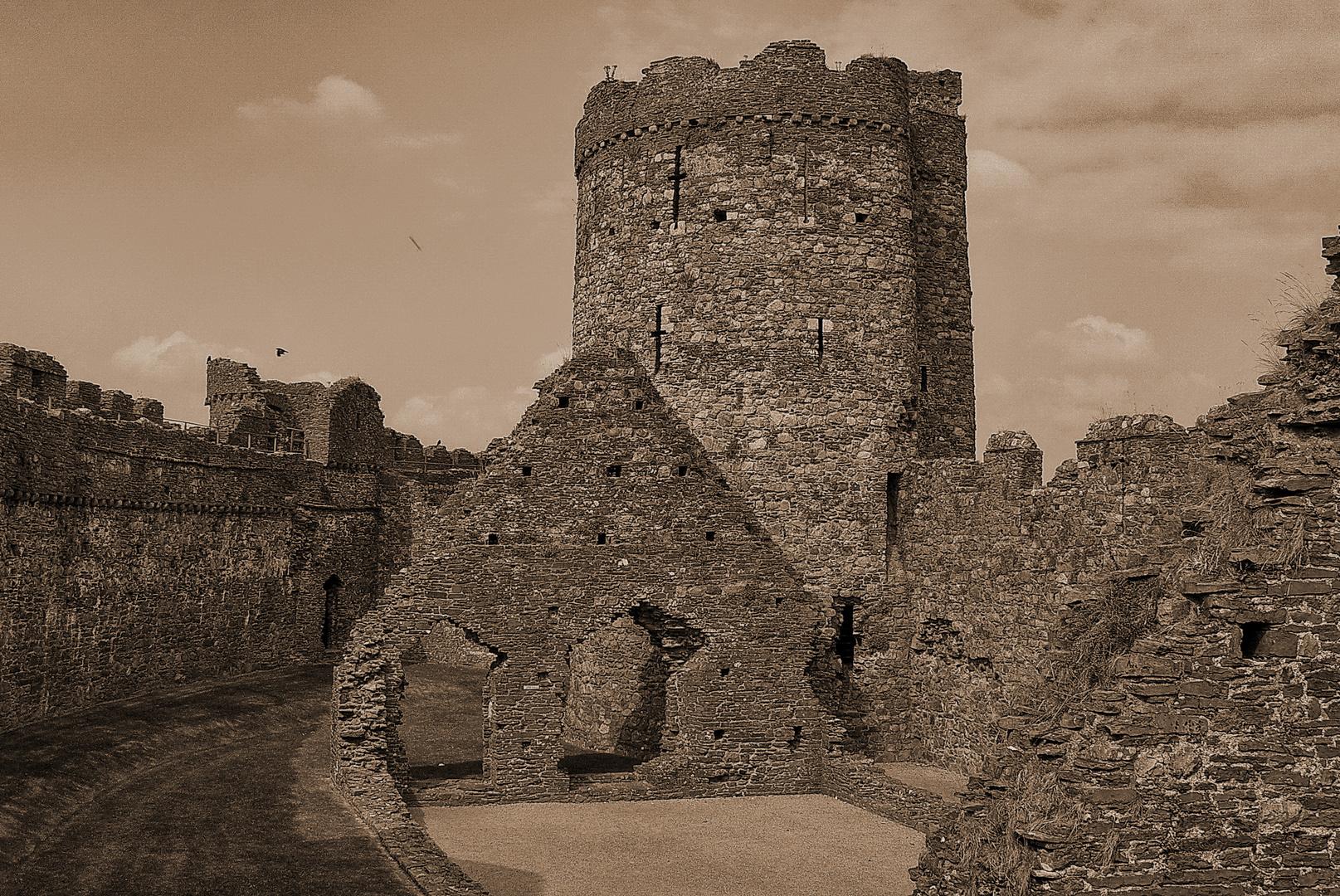 Burgen in Südwales IV
