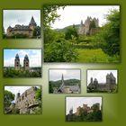 Burgen und Kirchen der Eifel.