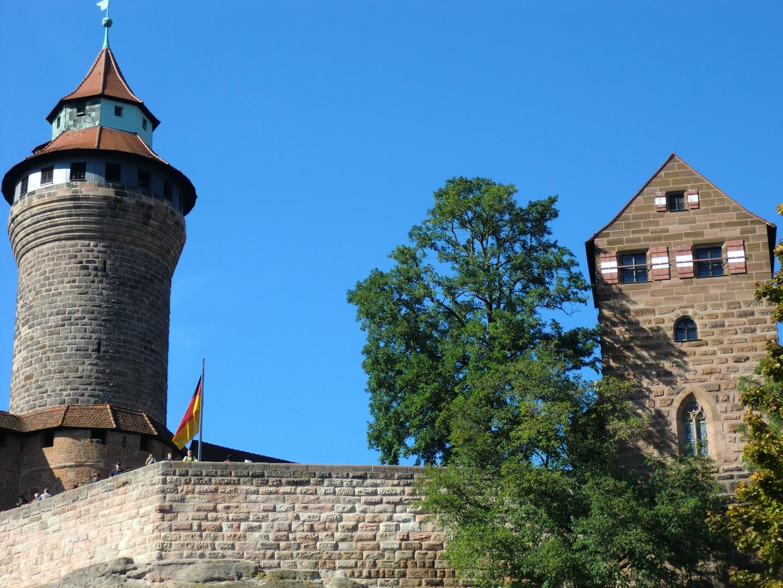 Burggrafenburg und Kaiserburg in Nürnberg