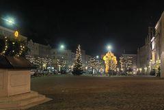 Burghausen Altstadt Nacht 4