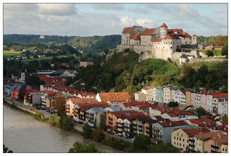 Burghausen - Altstadt und Burg