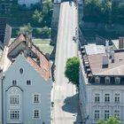 Burghausen von Deutschland nach Österreich