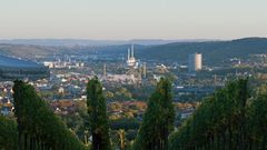 Burgholzhofturm - Blick ins Neckartal