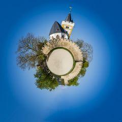 Burgkirche Ingelheim - Little Planet (3f)