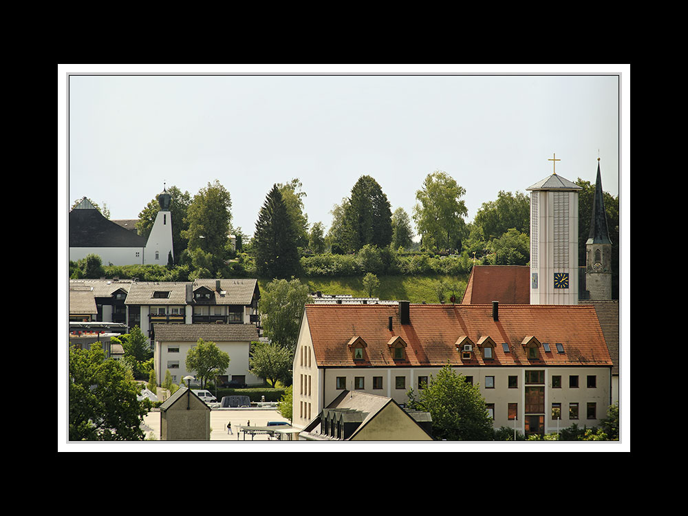 Burgkirchens Kirchen