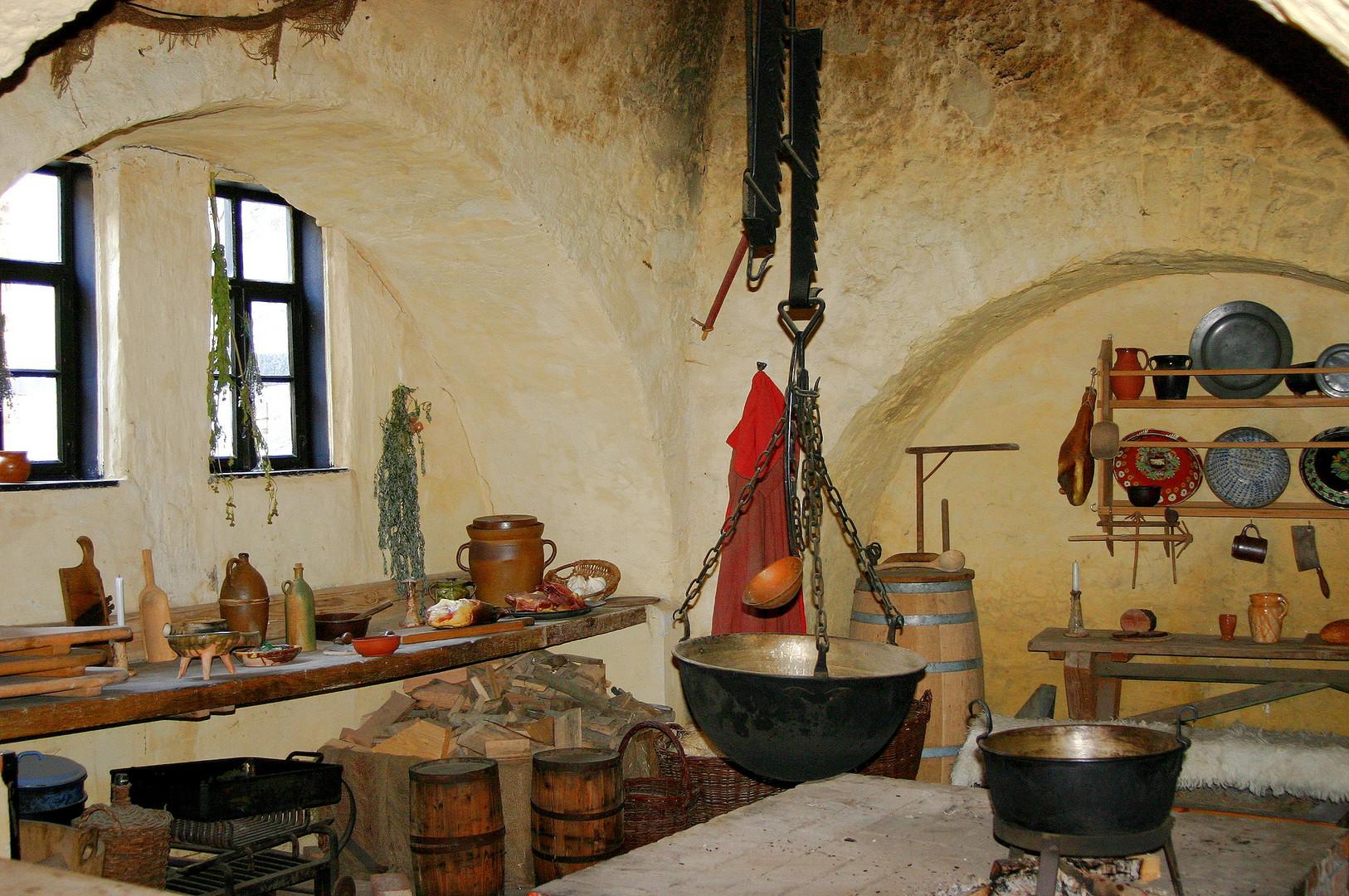 Burgküche auf Burg Falkenstein