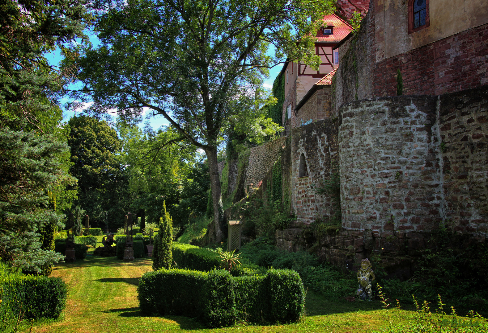Burgpark der Gamburg