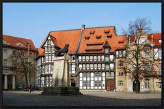 ...Burgplatz zu Braunschweig...