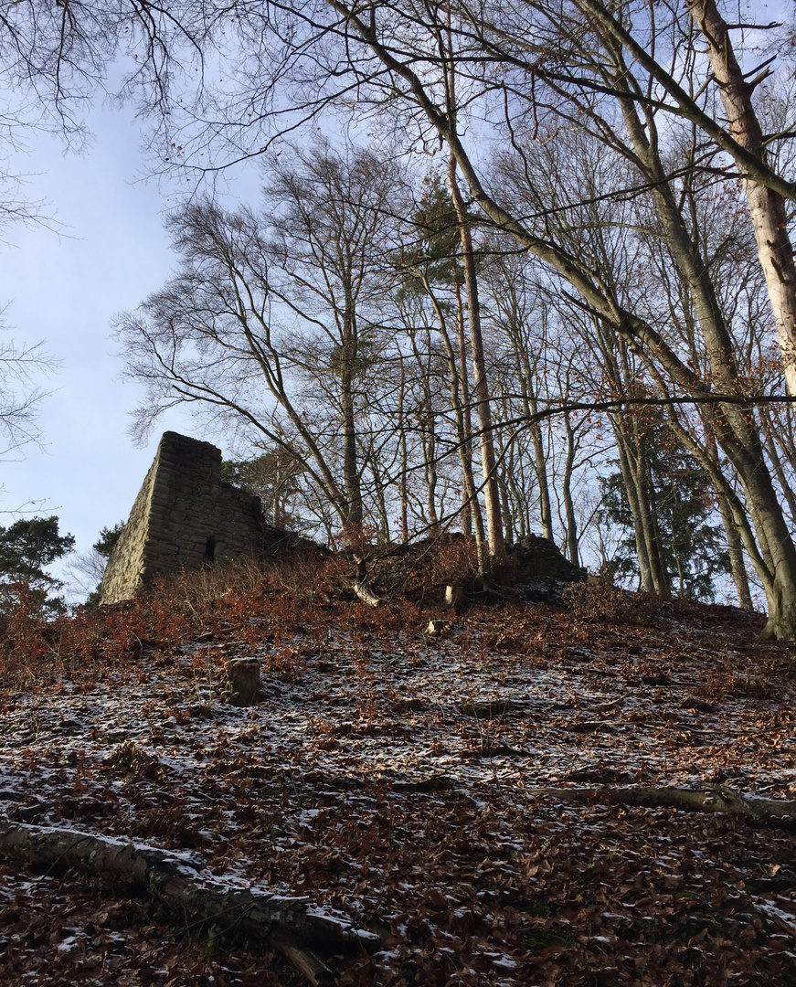 Burgruine Hohenfels (Alt Hohenfels) ...