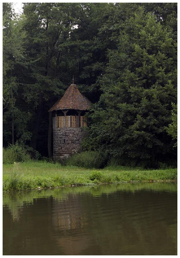 Burgruine Leonrod - der Weg -