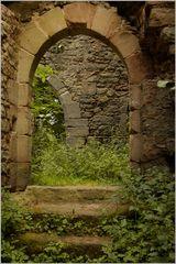 Burgruine Leonrod - in den Räumen 3