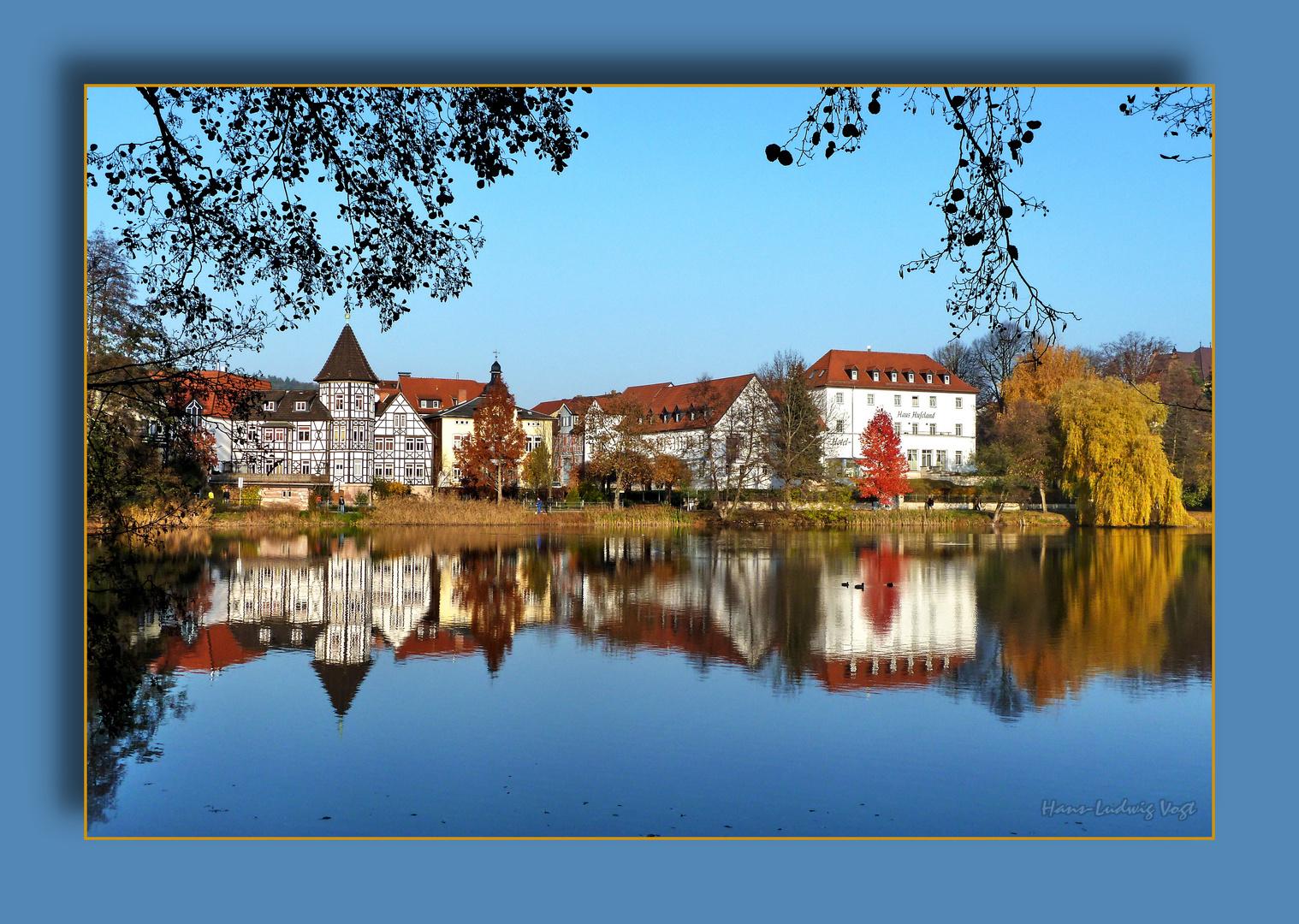 Burgsee im November