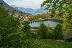 Burgseeli und das Dorf Ringgenberg