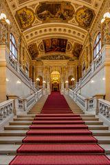 Burgtheater - nördliche Feststiege