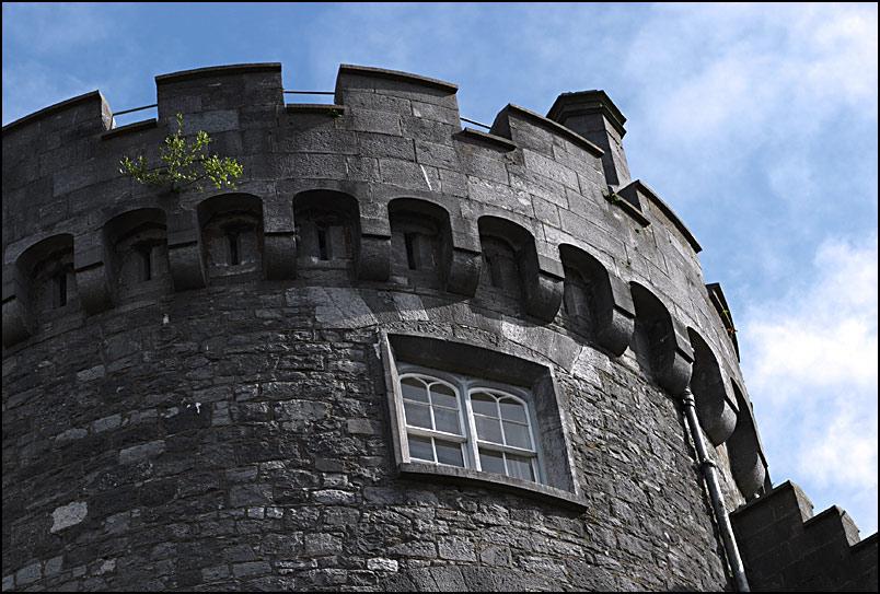 Burgturm mit Dachgarten