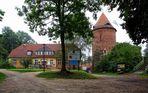 Burgturm Plau - einst die grösste Festungsanlage