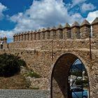 Burgzinnen Almudaina d'Arta / Festung  Im Burghof