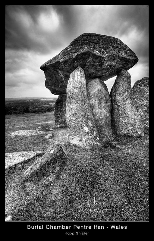 Burial Chamber - Pentre Ifan - Wales