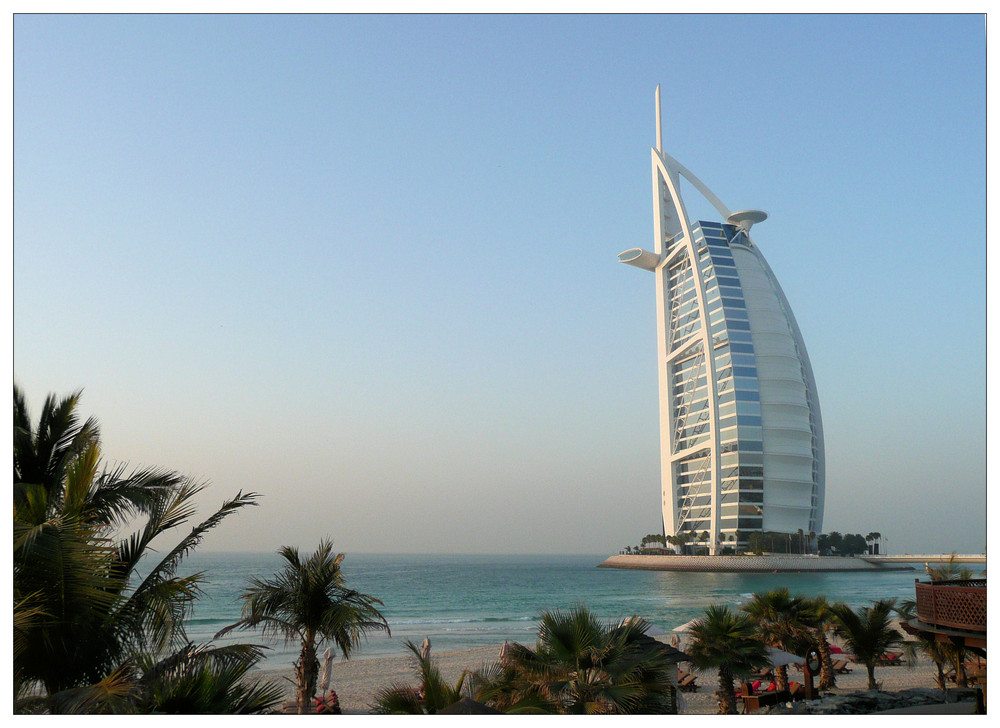 Burj Al Arab - Badeurlaub mit Weitblick