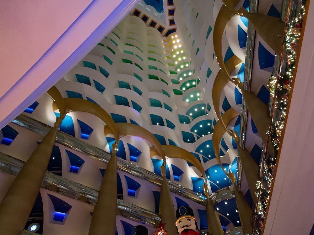 Burj al Arab - Christmas in Dubai