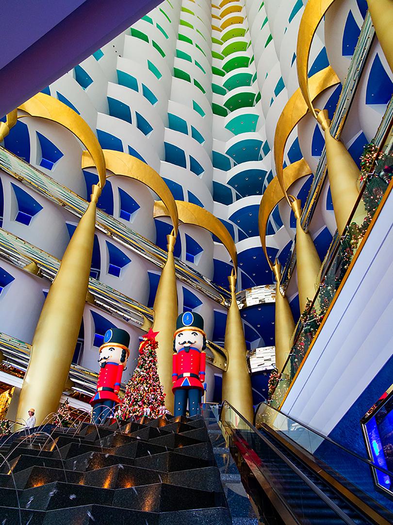 Burj al arab - Christmas in Dubai II