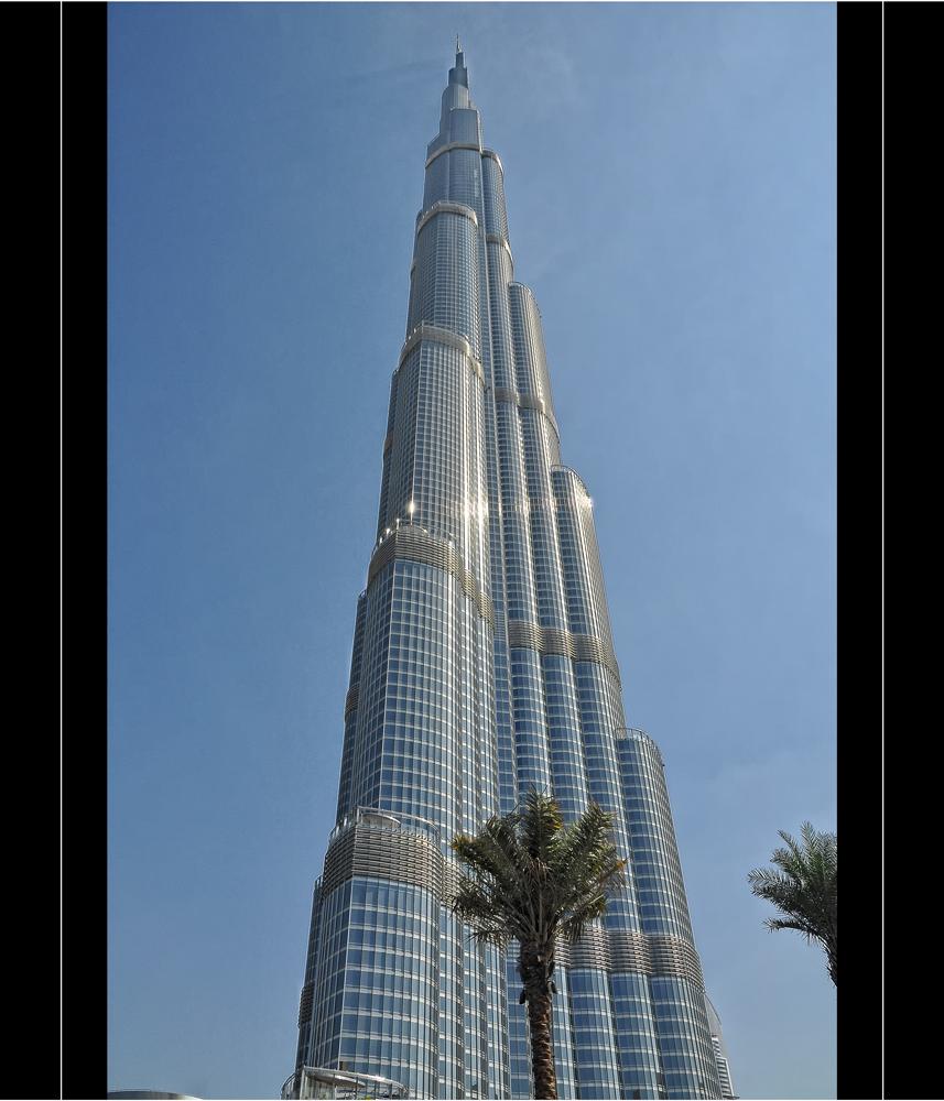 BURJ KHALIFA DUBAI 848M!