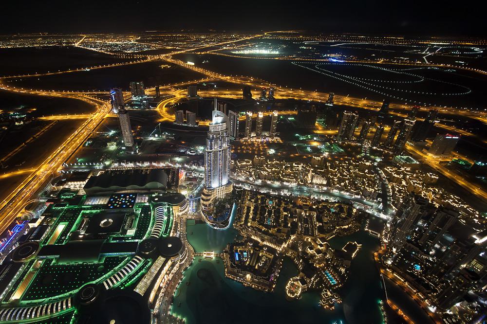burj khalifa - on the top