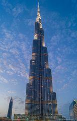 Burj Khalifa zur blauen Stunde