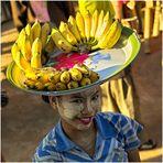 Burma am goldenen Felsen