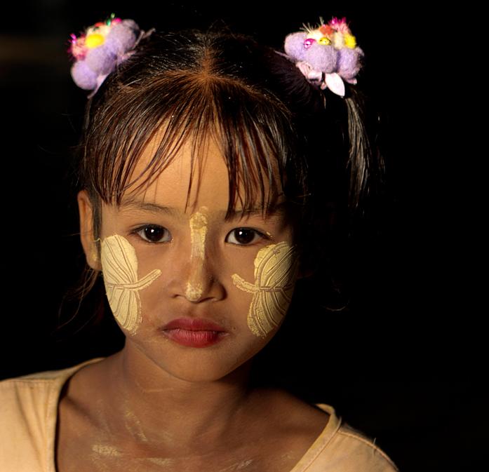Burma Mädchen
