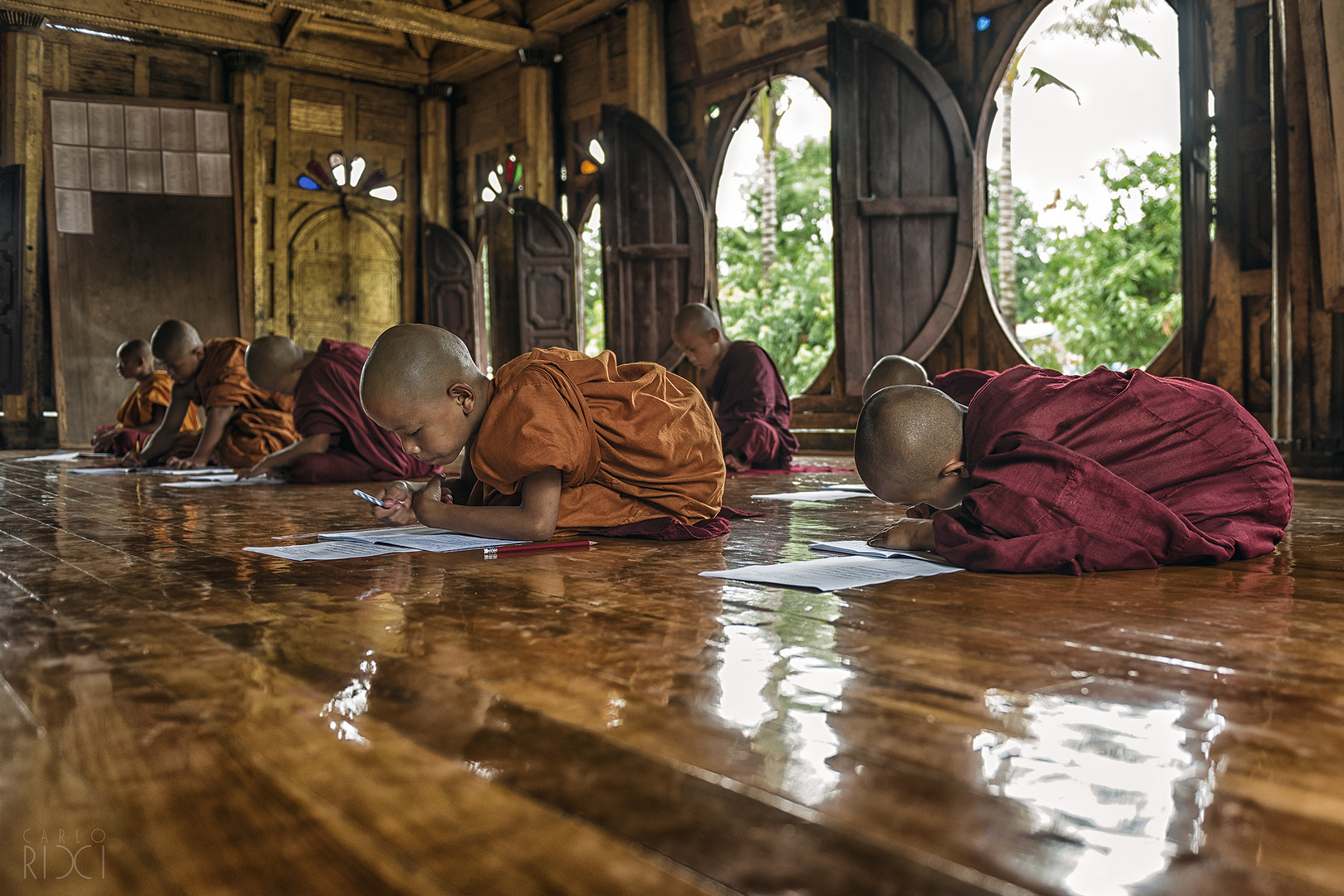 Burma's Buddhist children monks