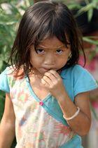 Burmese refugee Girl from Karen State