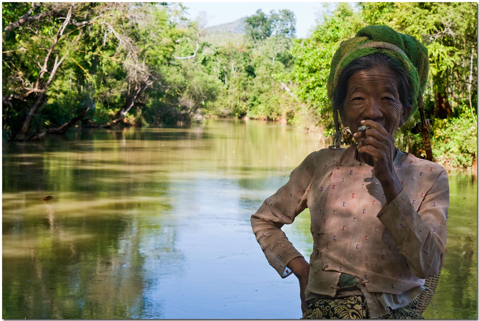 Burmesische Frauen am Inle-See, Shan-State Burma (Myanmar) #2