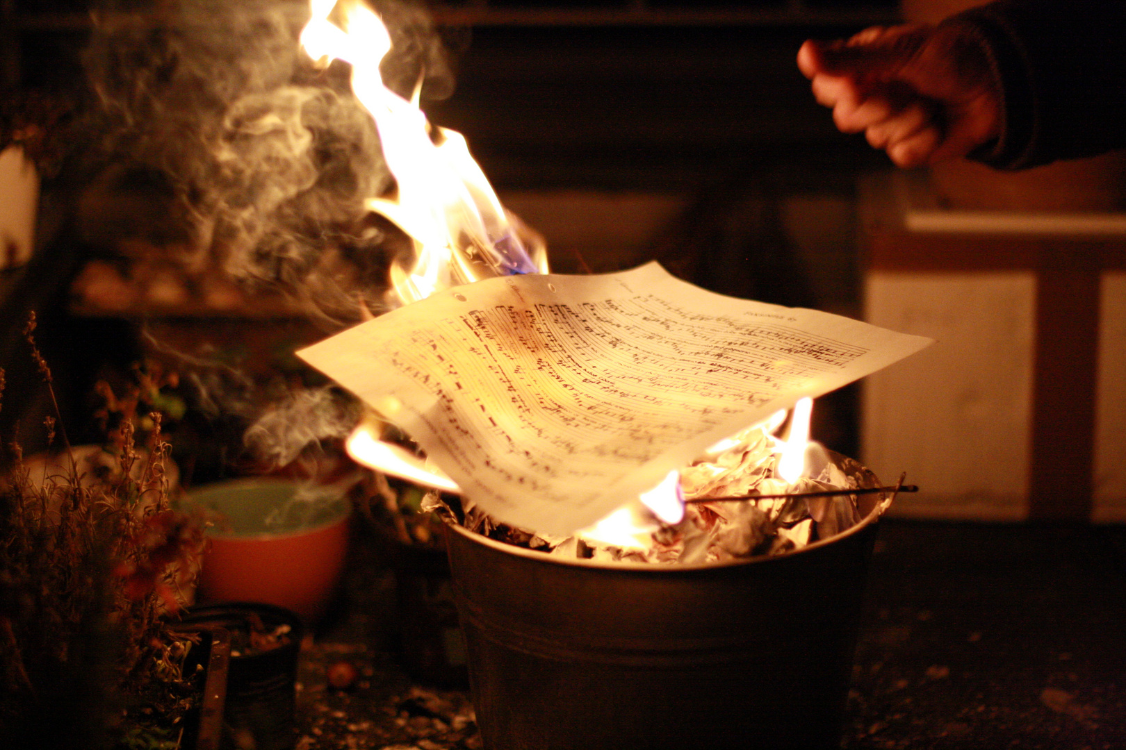~ burn the scores and keep the melody inside your soul ~