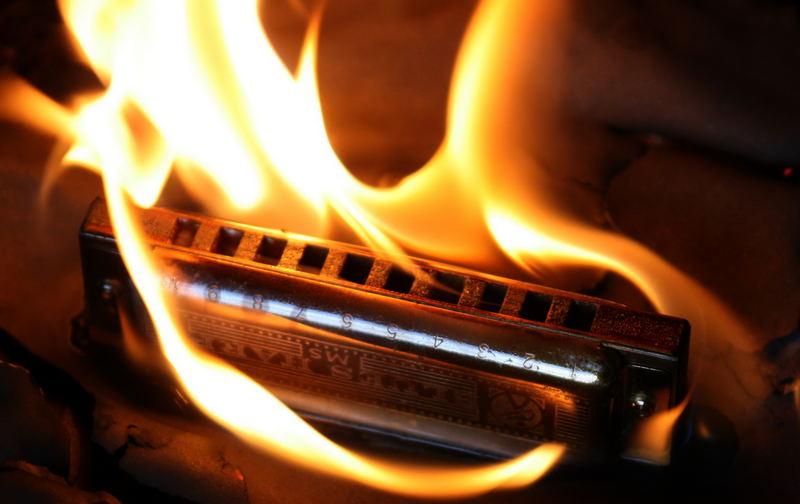 Burning Bluesharp II
