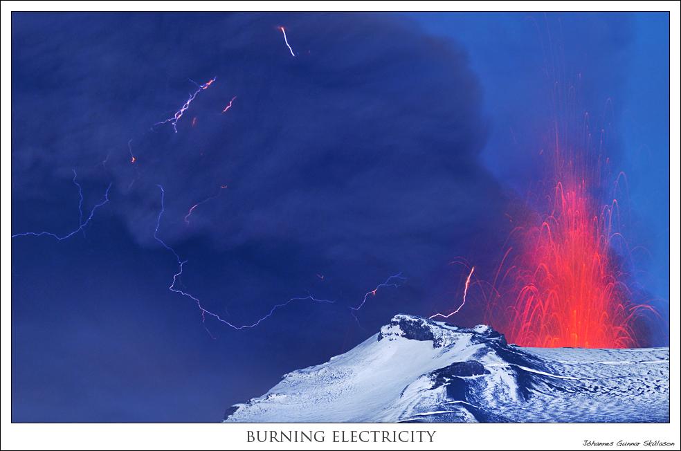 Burning Electricity!