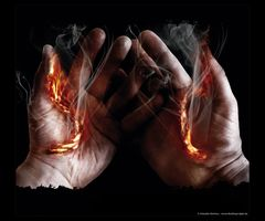 """Burning Lifelines In My Palms"""