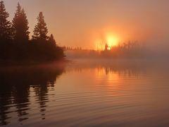 Burning sunrise...