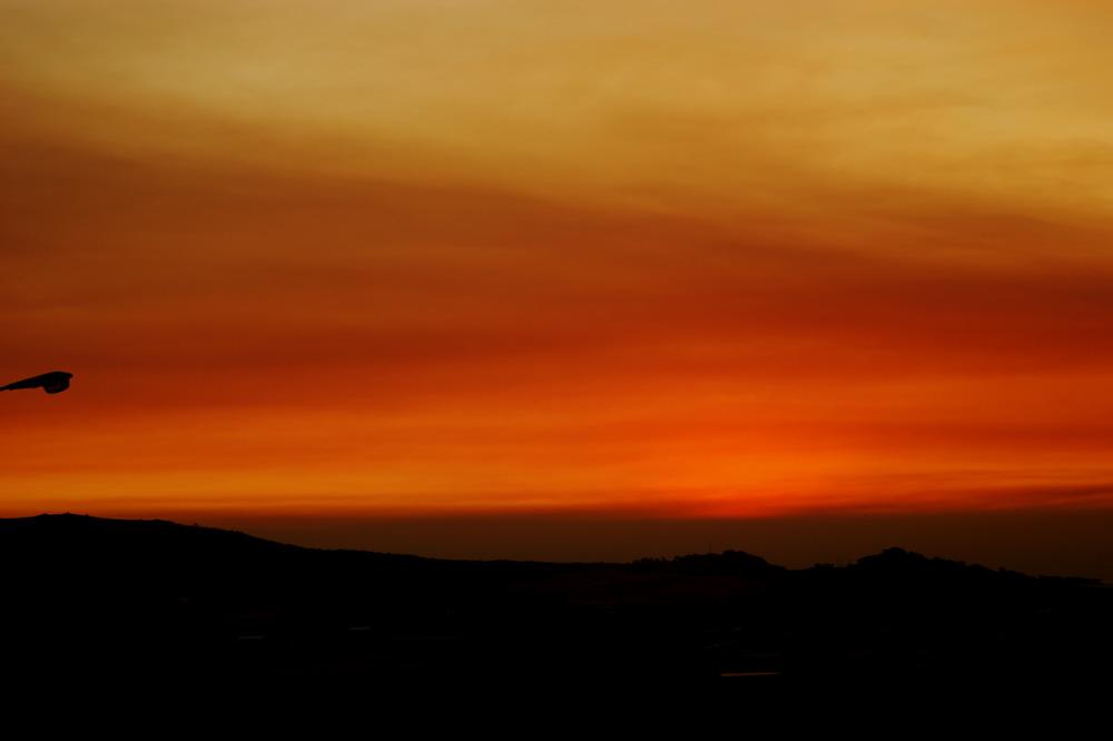 Burnished Golden Sunset