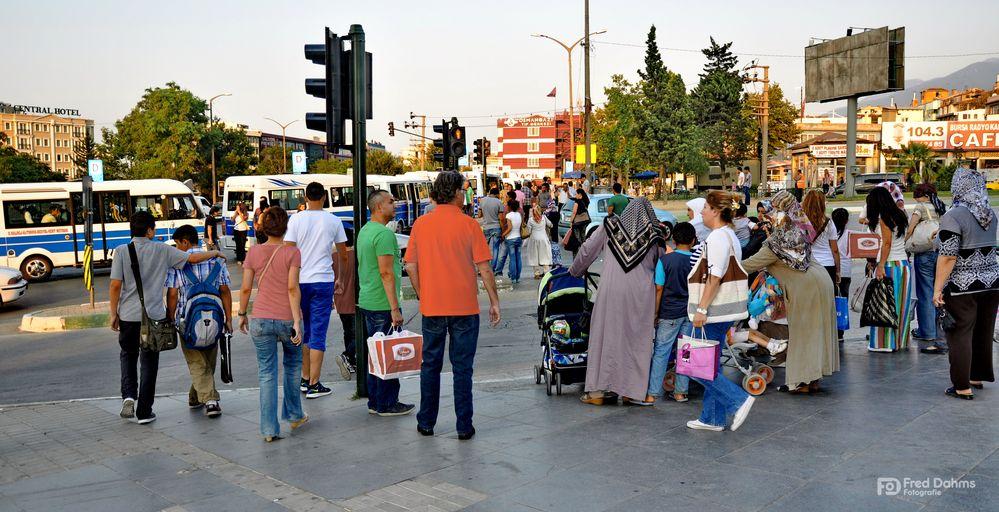 Bursa Türkei, Streetfoto